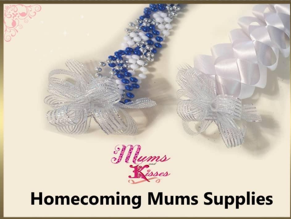 Homecoming Mum Supplies Mums And Kisses